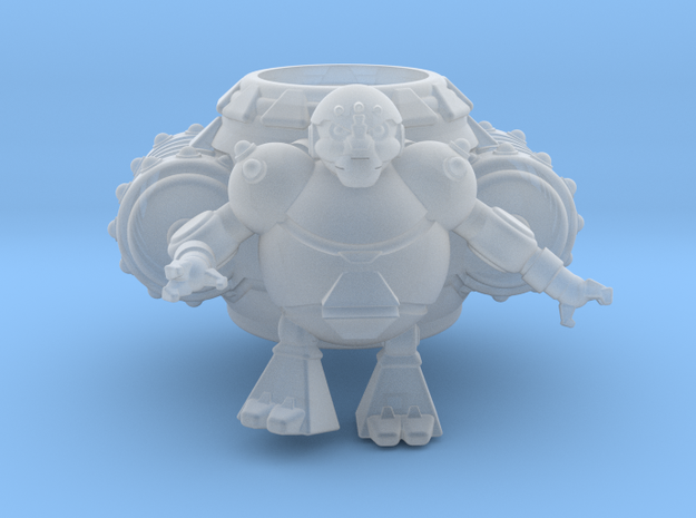 Suply Bot in Smooth Fine Detail Plastic