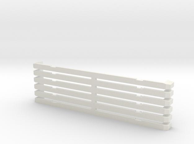 Wiener Strassenbahn Bahnräumer in White Natural Versatile Plastic