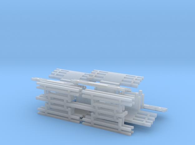 Fangkorb Tastgitter in Smooth Fine Detail Plastic