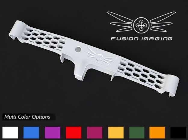 Flytrex Live / Live 3G Mount for DJI Phantom (V3) in White Processed Versatile Plastic