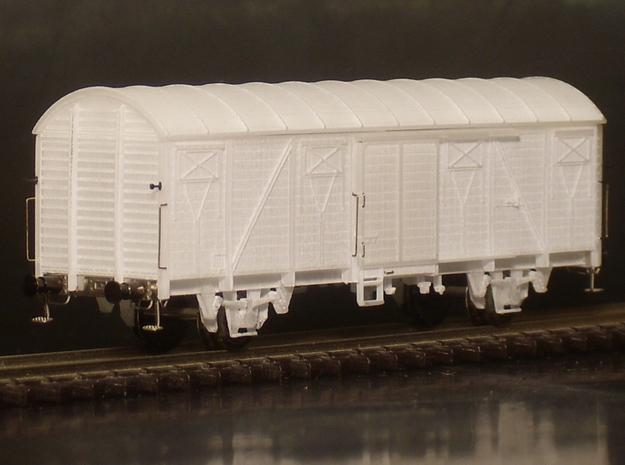 1103 N Glmhs 50, Bretterwände 3d printed Wagenkastenrohbau mit Zurüstteilen