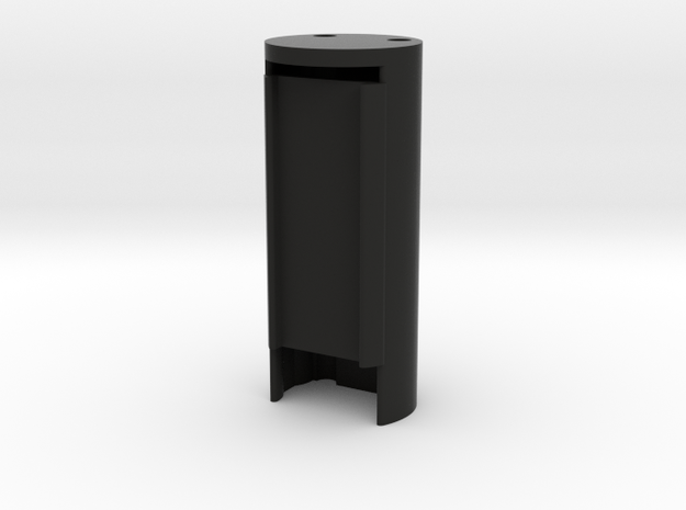 DNA 40 Carrier Large Screen Cylinder 19mm in Black Strong & Flexible