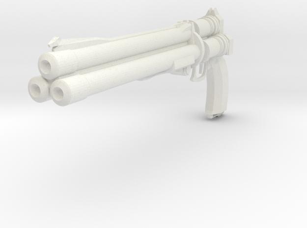 Final Fantasy - Vincent Valentine's weapon Cerberu in White Natural Versatile Plastic
