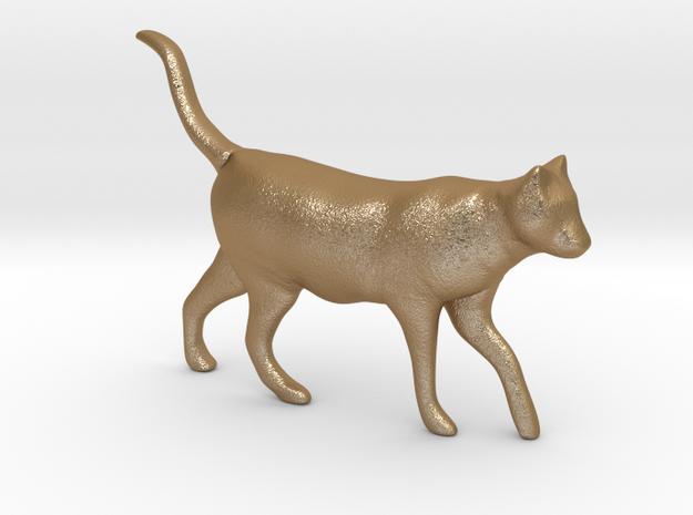 Cat in Matte Gold Steel