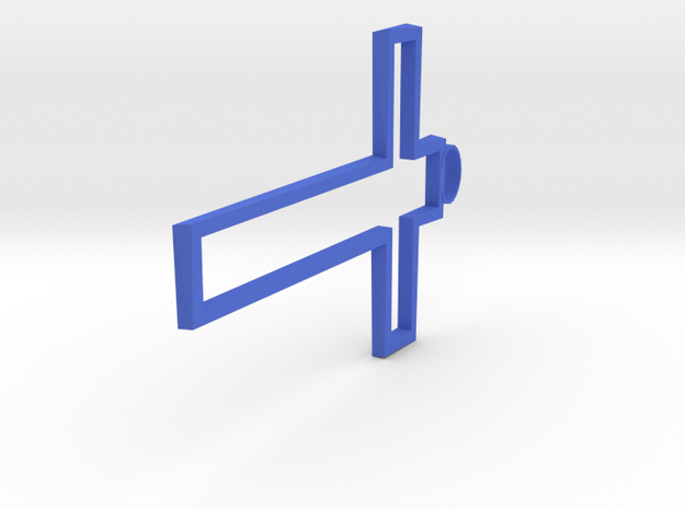 Hollow Cross Small 3d printed