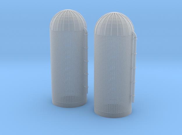 Grain Silo Z Scale in Smooth Fine Detail Plastic