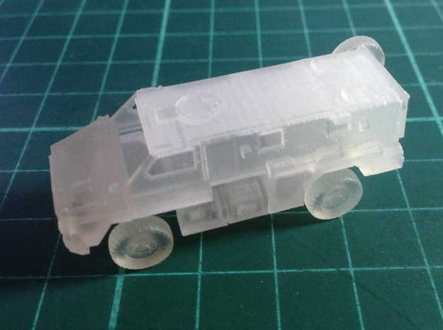 Bushmaster IMV(N/1:144 Scale) in Smooth Fine Detail Plastic