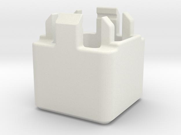 Switch Opener in White Natural Versatile Plastic