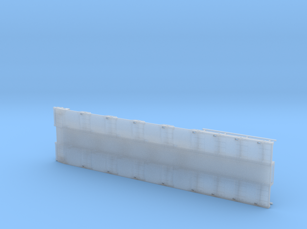 G 001 Umbausatz ähnlich Goldhofer 5 Achs Lang  in Smooth Fine Detail Plastic