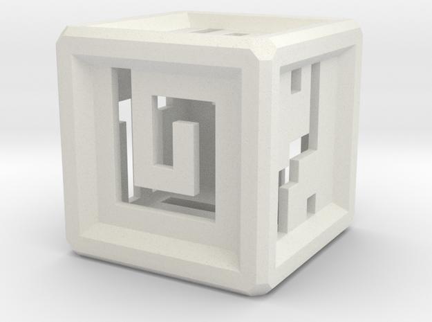 elemental nuva dice in White Natural Versatile Plastic