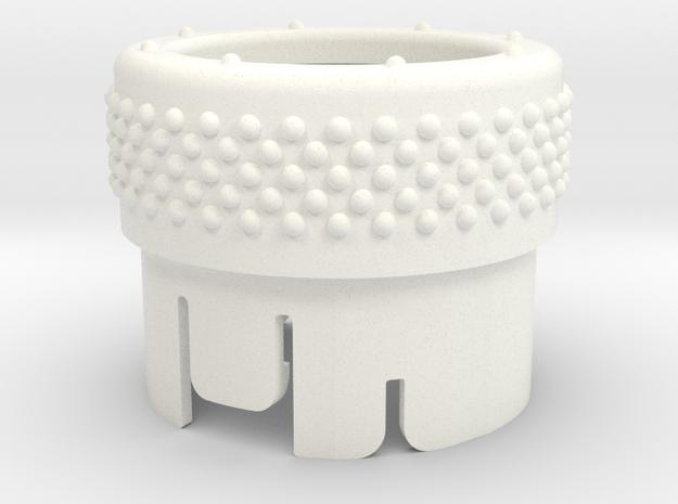 BRZ 72324CA000-002 in White Processed Versatile Plastic