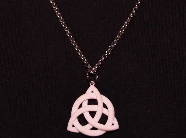 Holy Trinity Necklace 3d printed Older Half Sized model