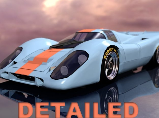 917 Detailed 3d printed
