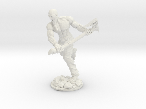 Barbarian 54 in White Strong & Flexible