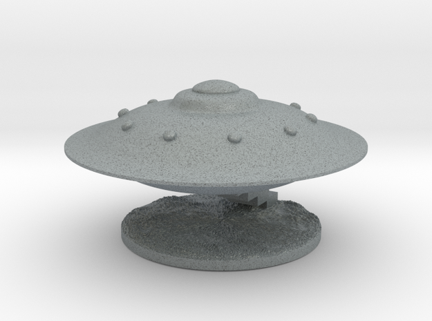 Spaceship Landing 3d printed