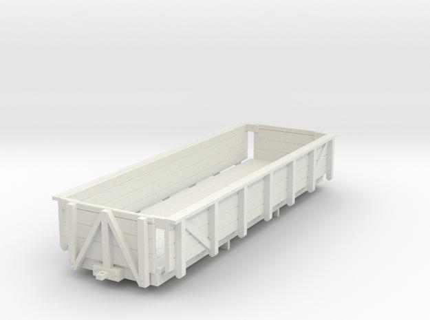 HOn30 Godchaux Sugar Cane Car - 2 Truck in White Strong & Flexible