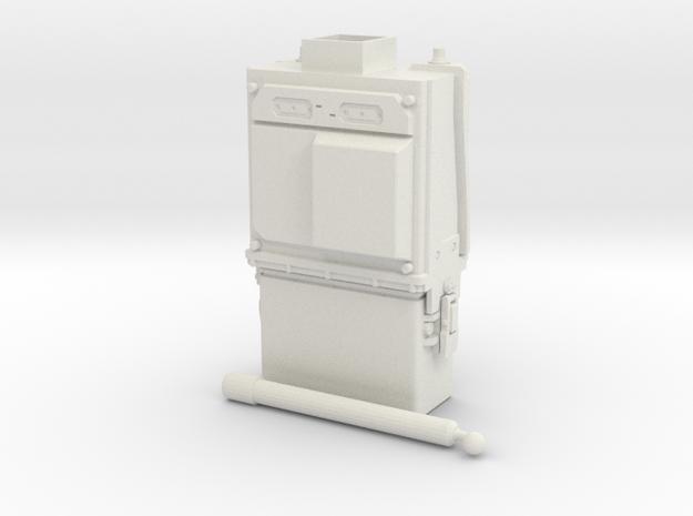 PRC-117G Body WSF 1/6 in White Natural Versatile Plastic