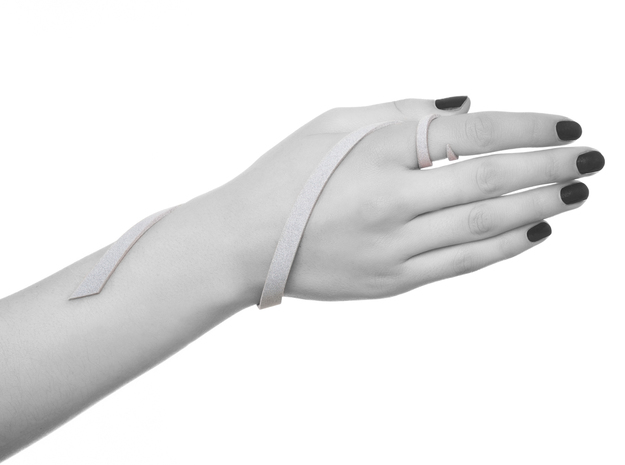 Kimberly Ovitz - Coelom Bracelet  3d printed