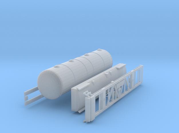 SBB Kesselwagen Uacs TT 1:120 1/120 in Smooth Fine Detail Plastic