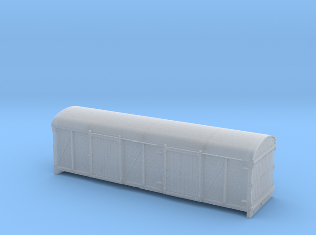 LMS / BR 6wheel Cell Truck body - 4mm scale in Smooth Fine Detail Plastic
