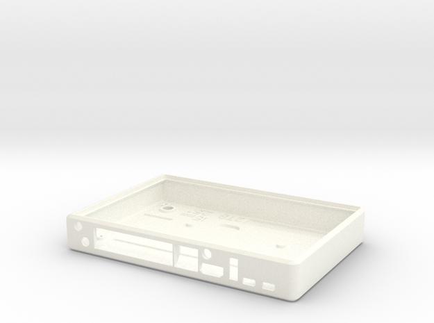 BPI R1 Banana Pi Router Case Base in White Processed Versatile Plastic