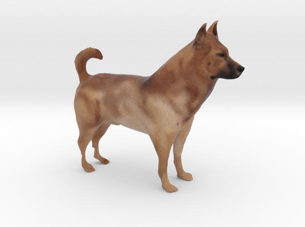 """Shepherd Dog - 10cm / 4"""" - Full Color in Full Color Sandstone"""