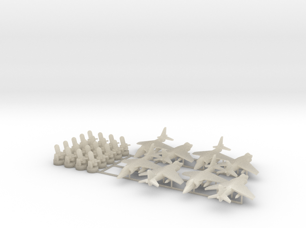 20 CIWS + 8 Harrier 3d printed