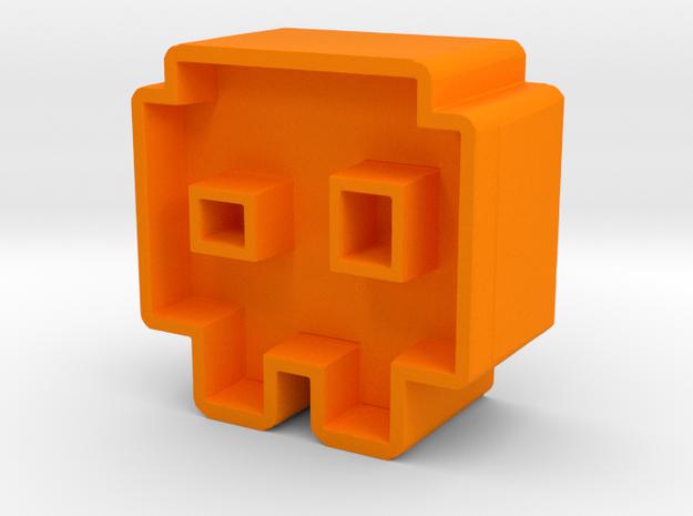 Icon #11 in Orange Processed Versatile Plastic