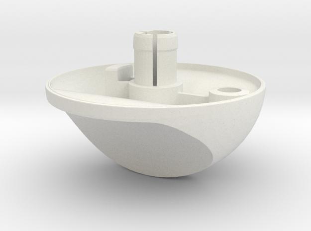 Renault Twingo ventilation button replacement  in White Natural Versatile Plastic