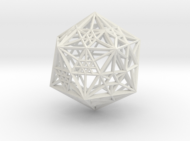 20s icowire dice in White Strong & Flexible