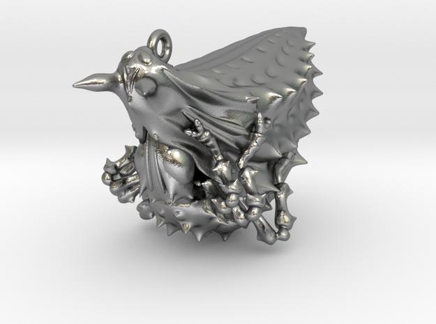 Pupa pendant Head S 3d printed
