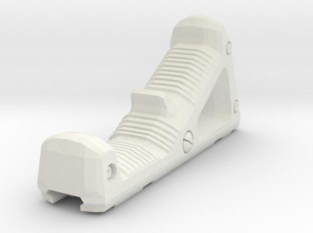 1/6 AngledGrip2 in White Natural Versatile Plastic