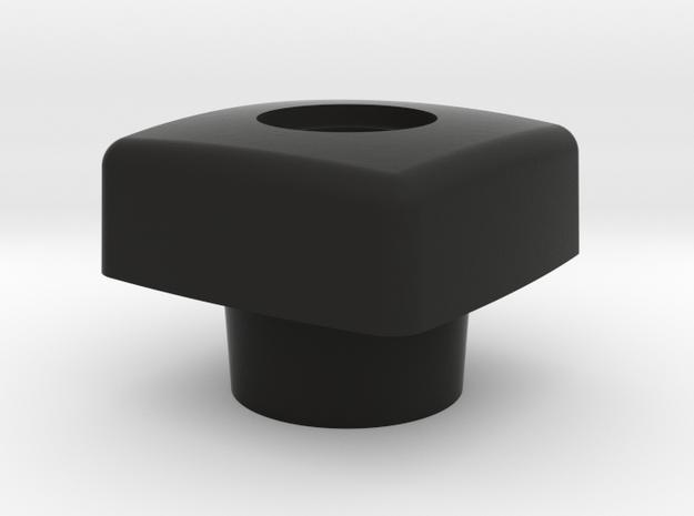 Knop raamuitzetter Constructam in Black Natural Versatile Plastic