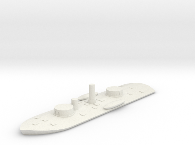 Milwaukee Class River Monitor 1/600 in White Natural Versatile Plastic