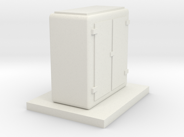 Signal Relay[OO/HO scale] in White Natural Versatile Plastic