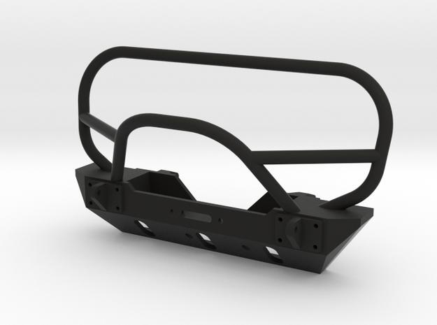 JK Winch Bumper - SCX10 Tabs in Black Natural Versatile Plastic