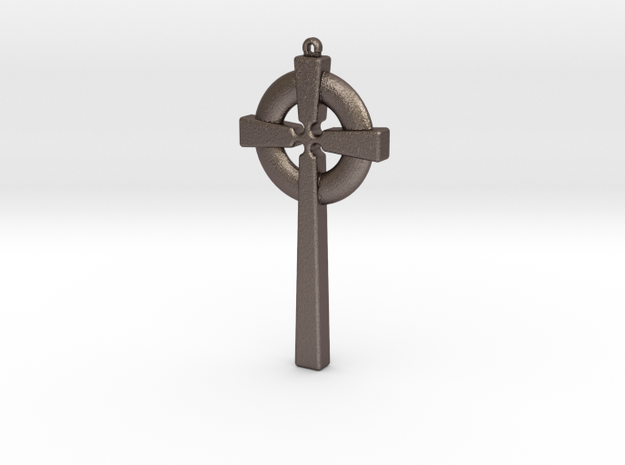 Celtic Cross 010 in Stainless Steel