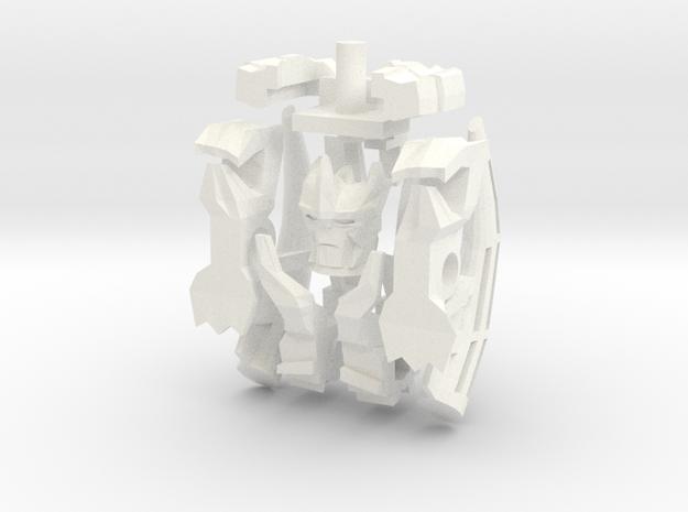 CV.Upkit01(Predaking) in White Strong & Flexible Polished