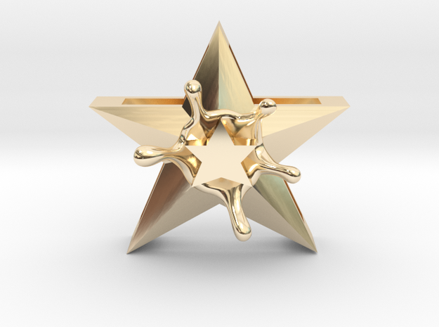 StarSplash in 14k Gold Plated