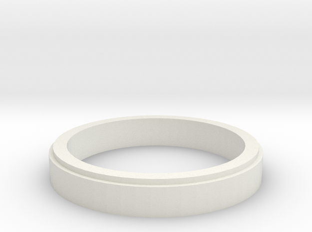 Formel MINI-Z Distanzring 3mm / 2,5 in White Strong & Flexible