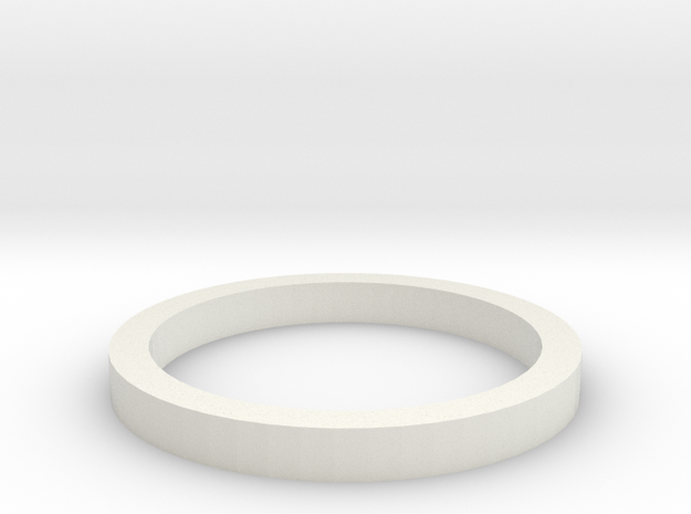 Formel MINI-Z Distanzring 2mm in White Strong & Flexible