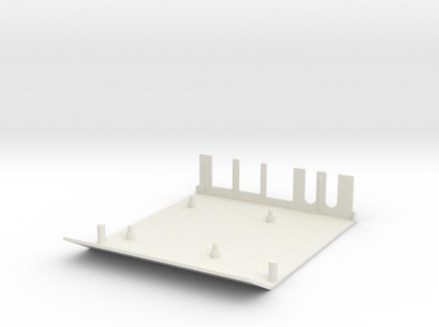 Apple II Raspberry Pi B+, PI 2 Enclosure BASE in White Natural Versatile Plastic
