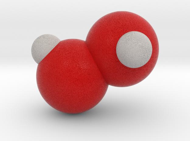 Hydrogen peroxide in Full Color Sandstone