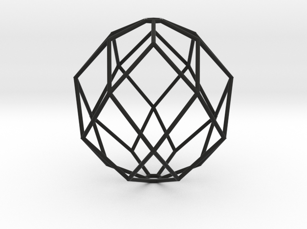 100x100 Hexajewel Pendant Light in Black Strong & Flexible