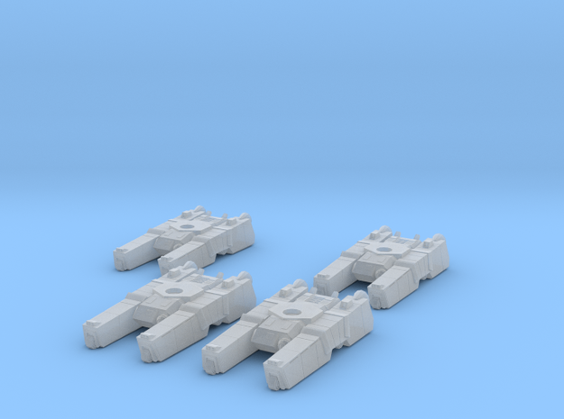 285th Centaur Hovertank platoon (tank hulls only)