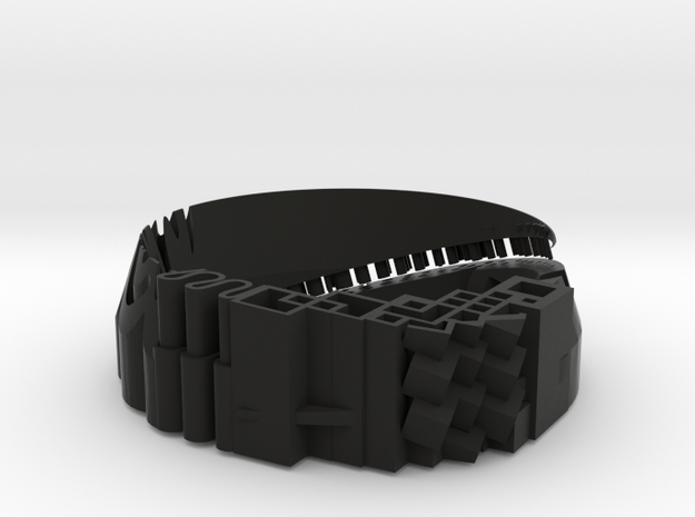 Bracelet material test - Armband Materiaal Test  in Black Strong & Flexible