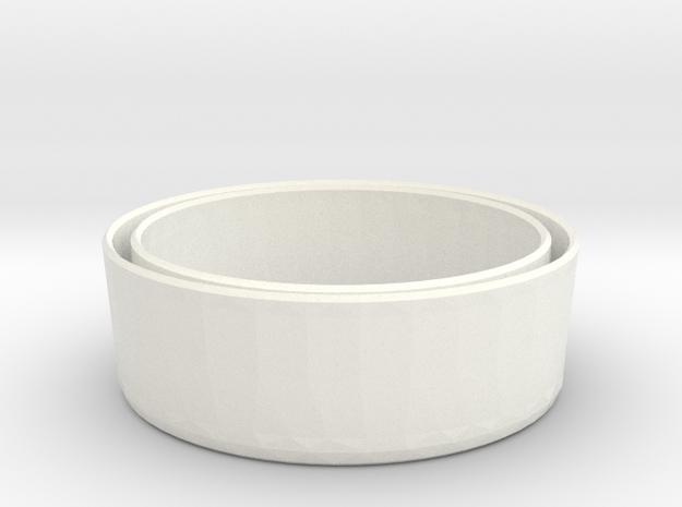 Sleeve-O 16oz PROTOTYPE outdoor 6412 V1 in White Processed Versatile Plastic