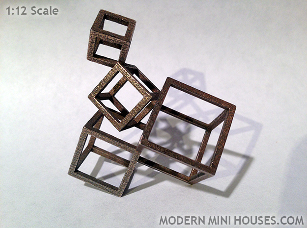 Cubed Art Sculpture 1:12 scale