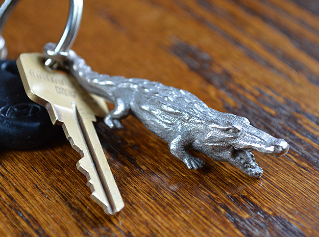 Alligator Keychain / bottle opener