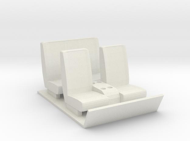 Gmc 5500 interior (Crew Cab) in White Natural Versatile Plastic